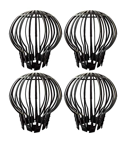 Gutter Guard Downspout Pipe Filter Strainer Set of 4.