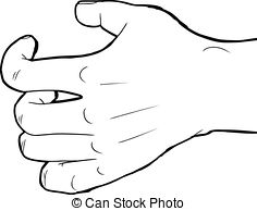 Outline grabbing hand Clipart and Stock Illustrations. 29.