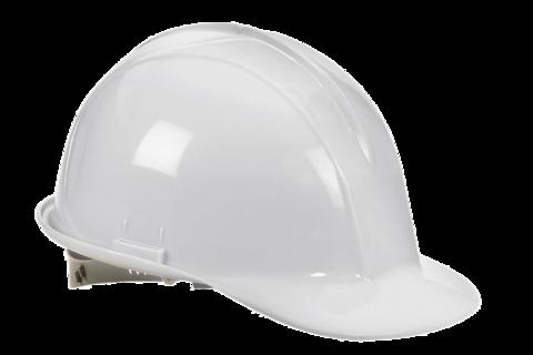 Klein White Hard Hat, Class E.