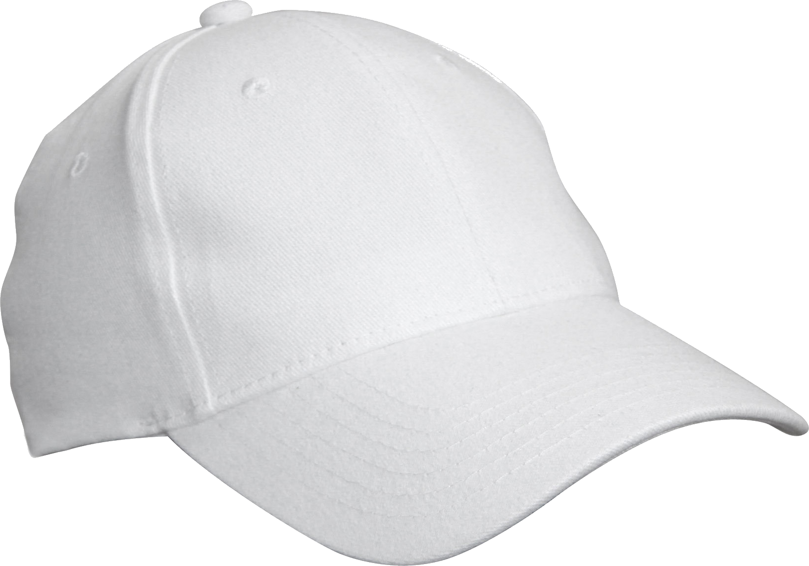 SImple white Cap PNG Image.
