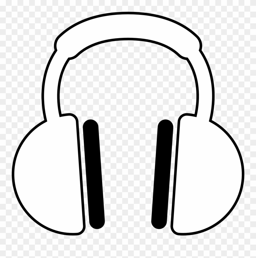 White headphones download free clipart with a transparent.