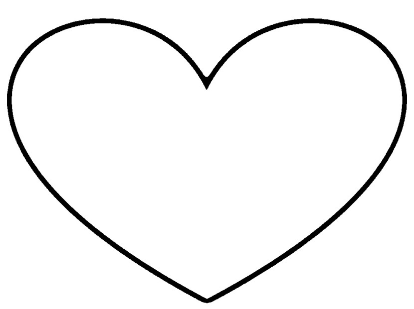Black And White Heart Clipart & Black And White Heart Clip Art.