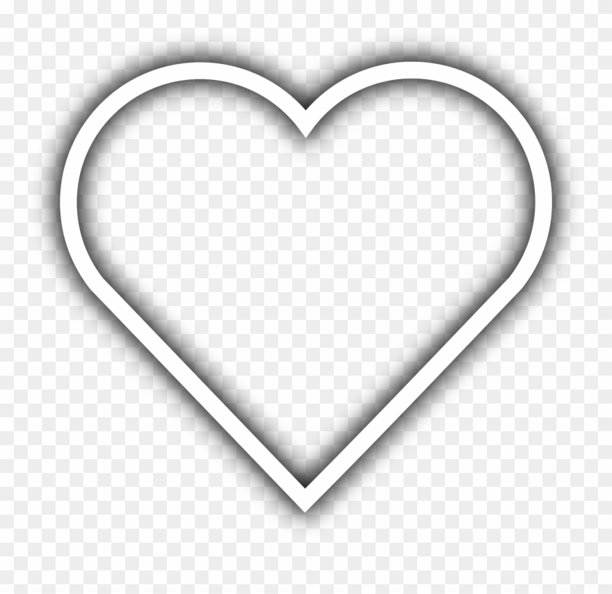 Transparent White Heart & Free Transparent White Heart.png.
