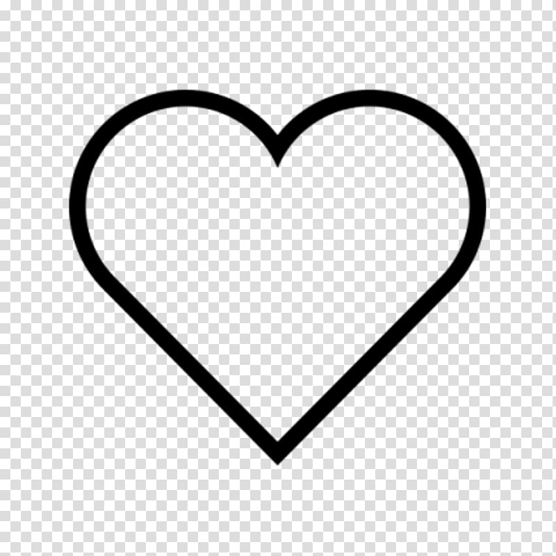 Heart Computer Icons , white heart transparent background.
