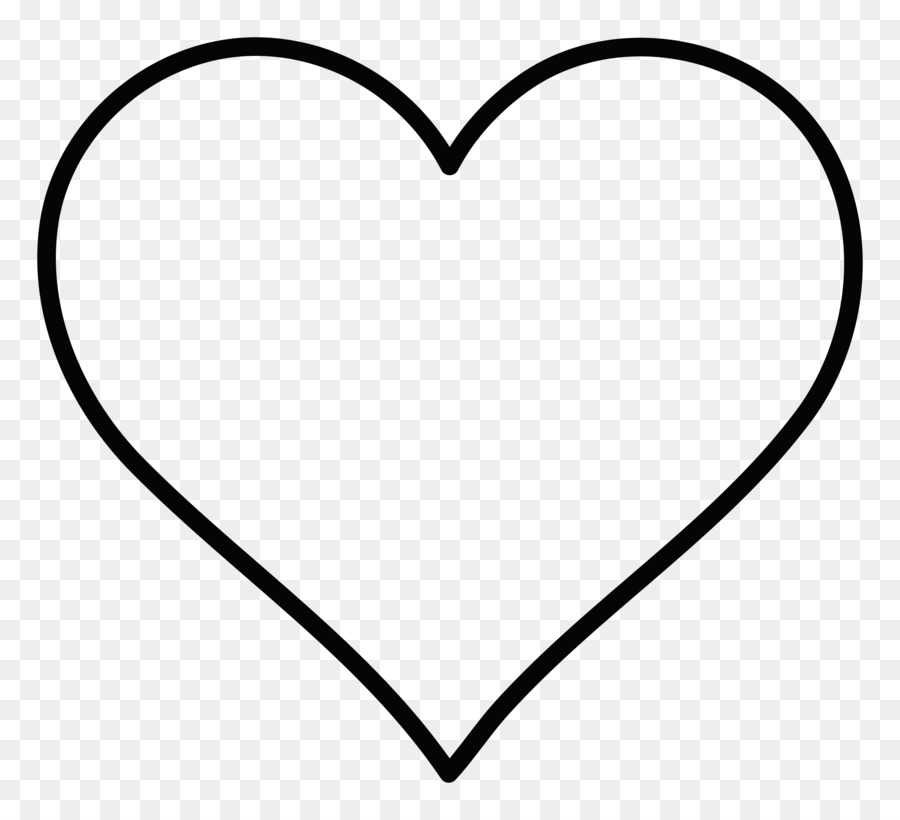 Black And White Heart Area Pattern.
