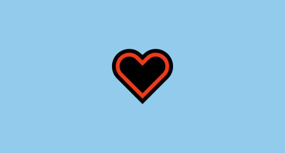 ♡ White Heart Suit Emoji.