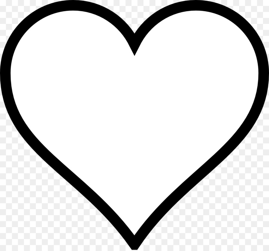 Download Free png Heart Valentines Day Black and white Clip.