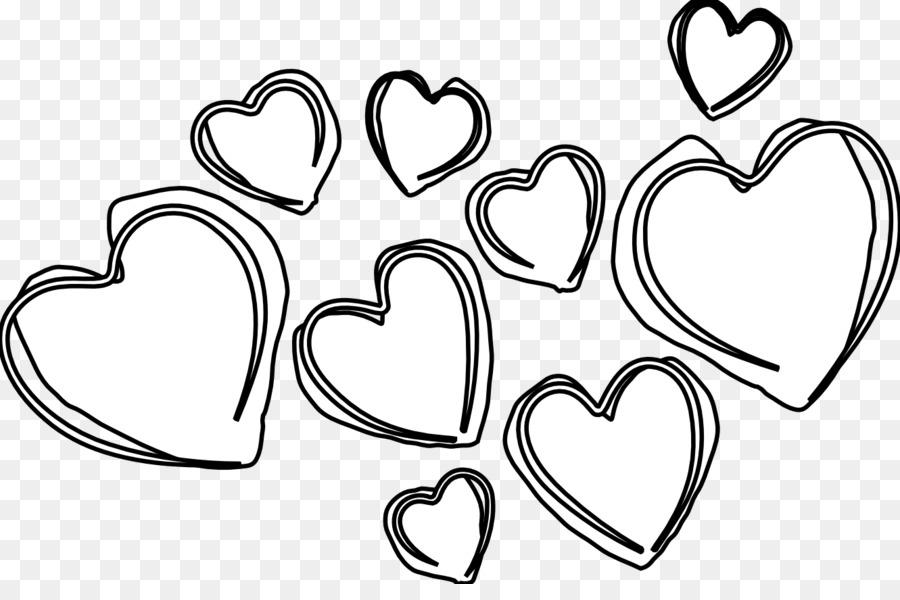 9230 Hearts free clipart.
