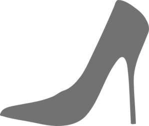 Free High Heel Clipart Black And White, Download Free Clip.