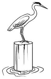 Heron Clip Art.