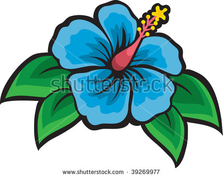 Hibiscus Clip Art Stock Photos, Royalty.