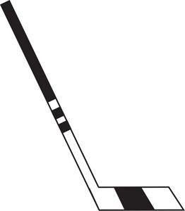Hockey Stick Clipart Image.