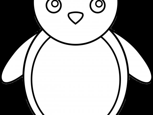 Shape Clipart Penguin.