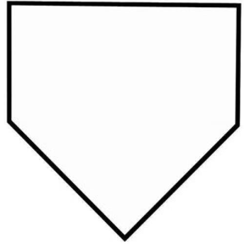 Image result for home plate clipart.