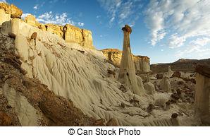 Pictures of Wahweap Hoodoos, Utah, USA.