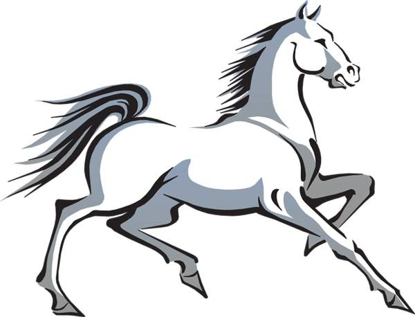 White horse clip art cwemi images gallery.