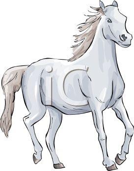 Horse Clipart White.