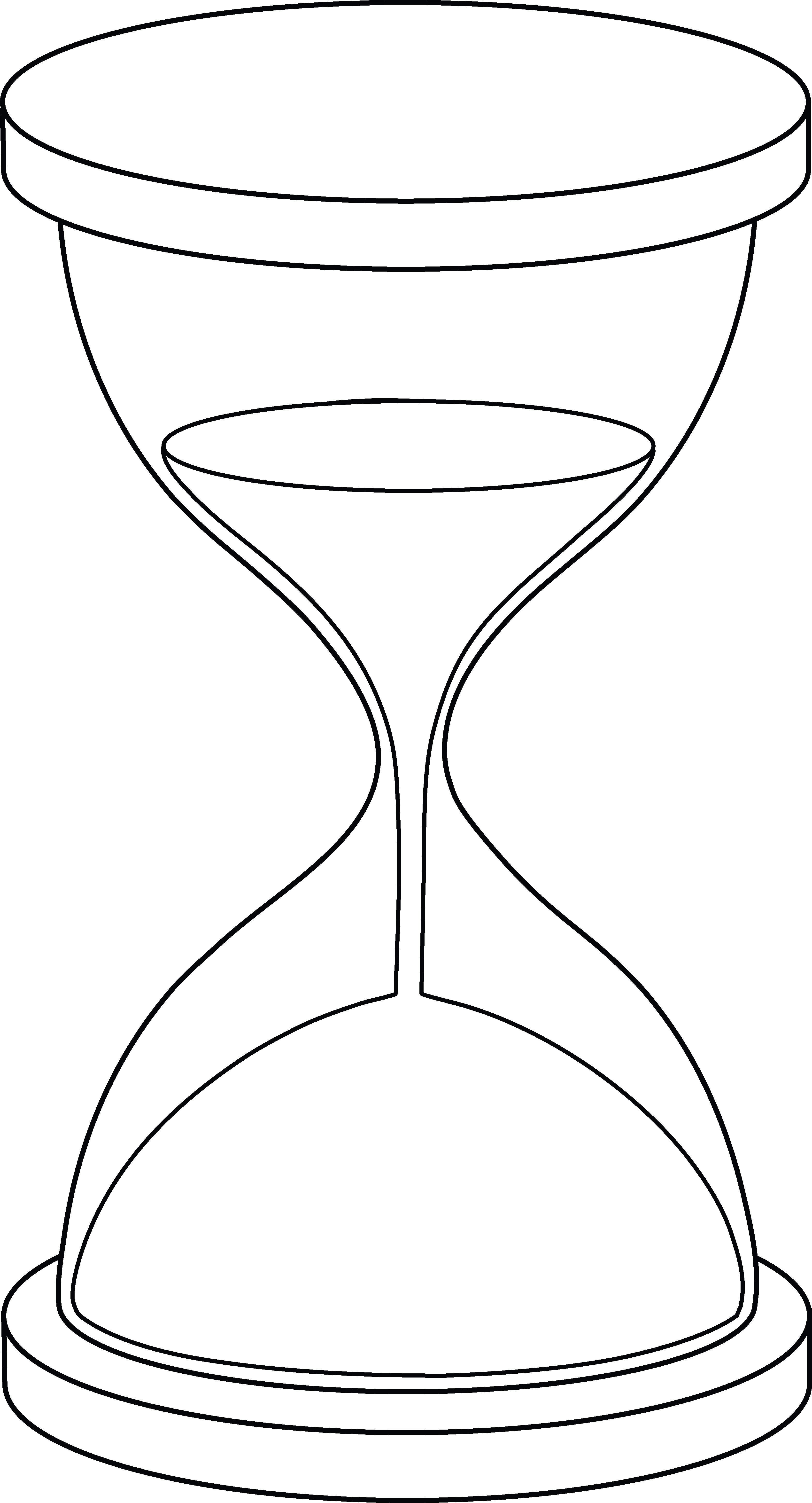 Hourglass Clipart Sand Timer.