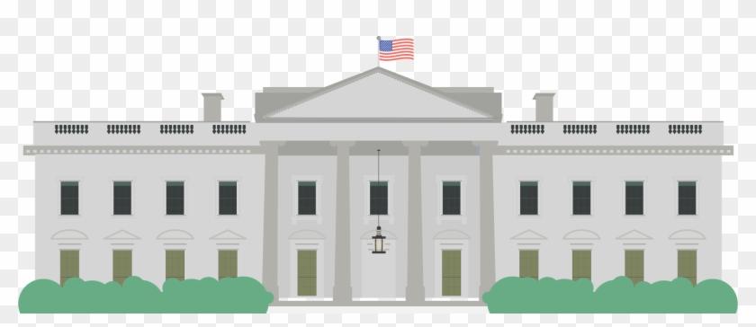 White House Clipart United States.