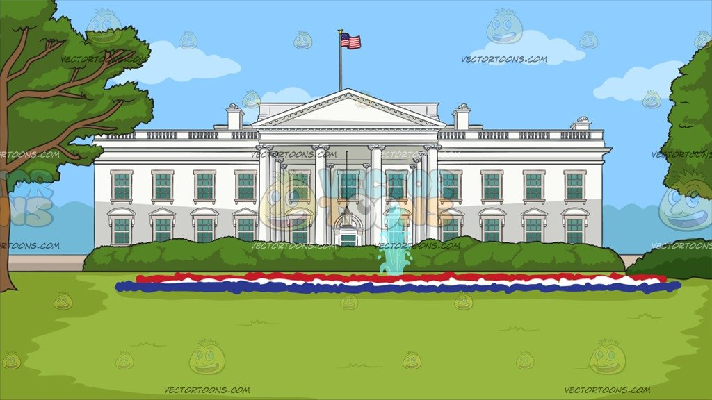 The White House Background.