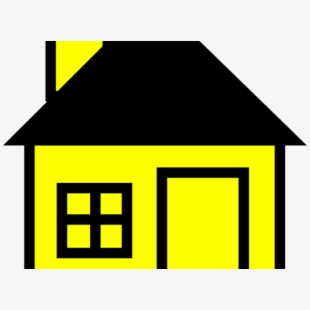 Haunted House Clipart Home Made.