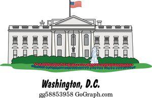 White House Clip Art.