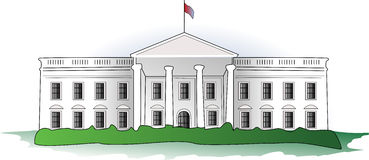 White House Clipart Simple.