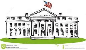 Image result for cartoon white house.