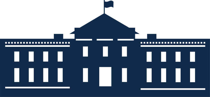 Free Clipart: Whitehouse Silhouette.