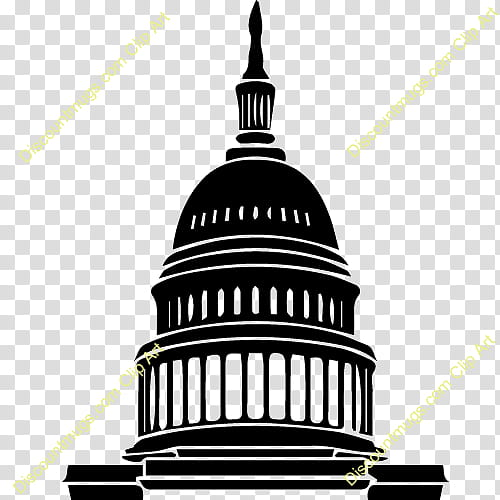 Congress Background, United States Capitol, White House.