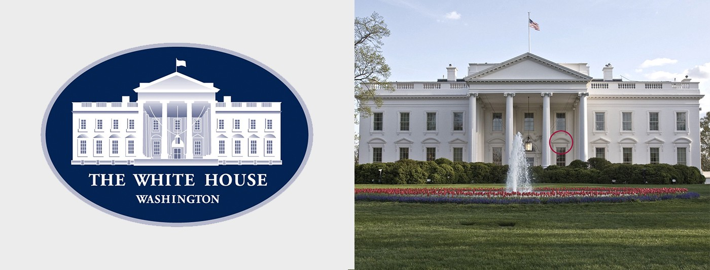 The Race for The White House (Logo).