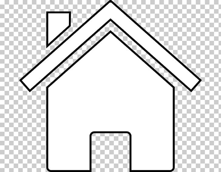 White House , Home Outline s PNG clipart.