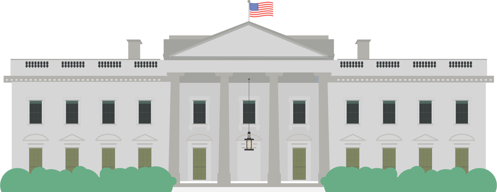Download White House PNG HD 494.