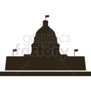 white house silhouette washington dc vector clipart . Royalty.