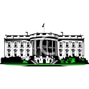 Washington Dc White House Clipart.