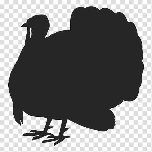 Turkey meat Jerky Silhouette, turkey transparent background.