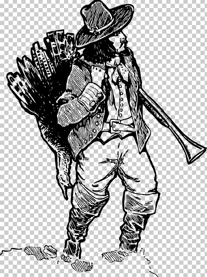 Turkey Hunting Pilgrim PNG, Clipart, Armour, Art, Bird.