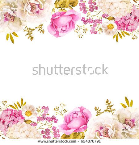 Floral decoration wedding background with roses and.