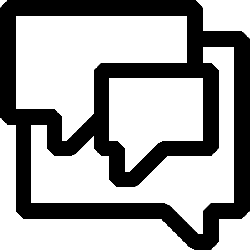Forum Black And White Icon Clipart.