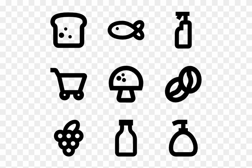 Food Icon Packs Svg Psd Png.