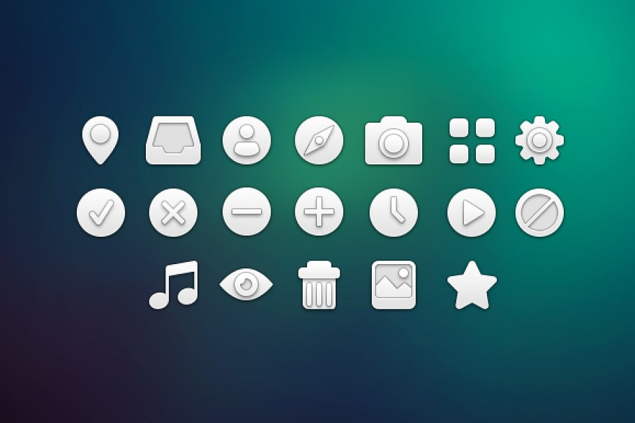 White icons pack.