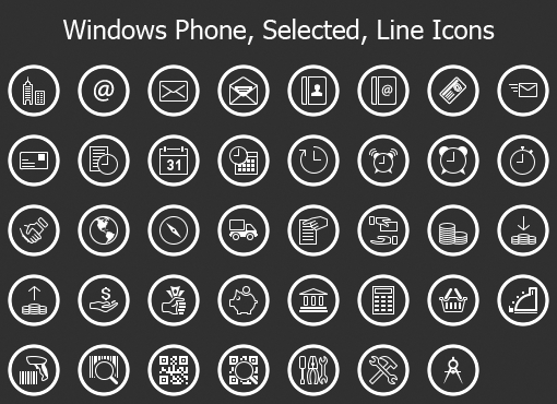 Singularity Icons for iOS 7.