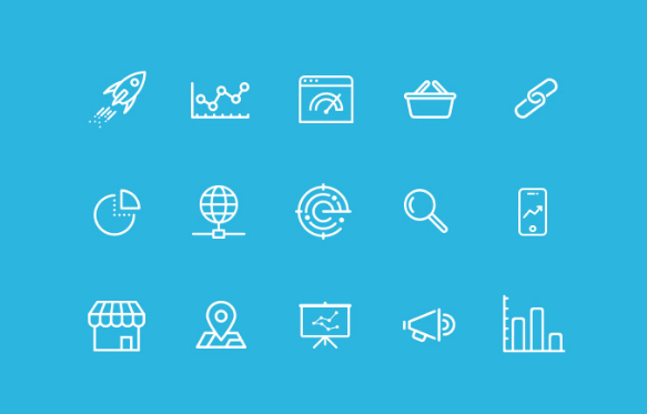 20+ Best Free SEO & Online Marketing Icon Sets (Updated For 2018.