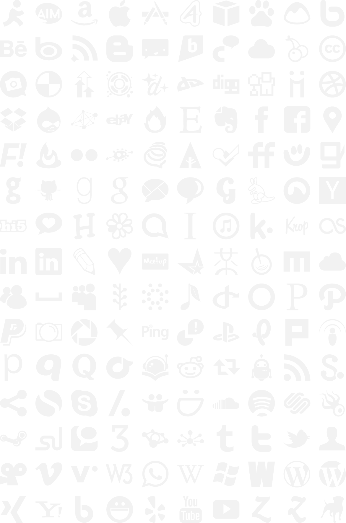 Download less file social icons less grey png black png white png.