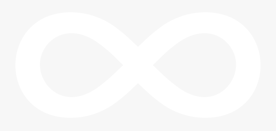 White Infinity Symbol Png.