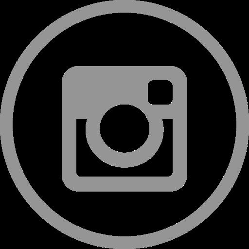 Circle, instagram icon.