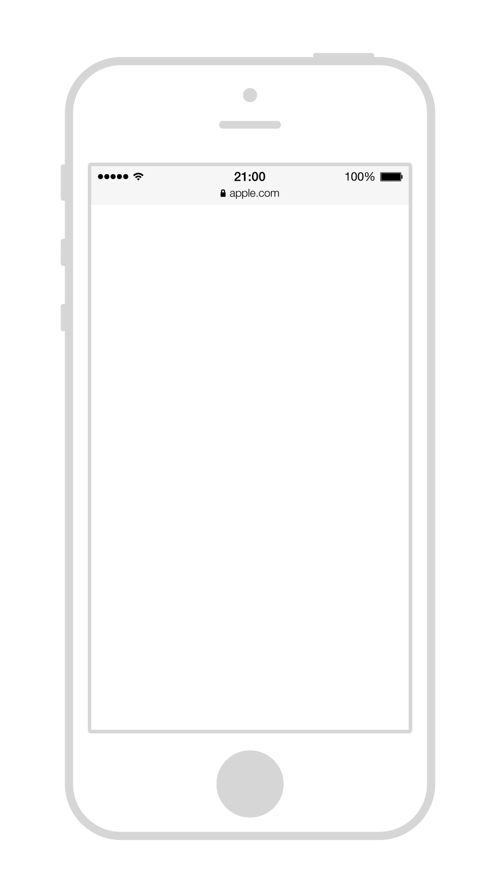 Iphone PNG Black And White Transparent Iphone Black And White.PNG.