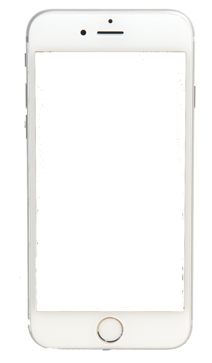 White Iphone Icon Png #319772.