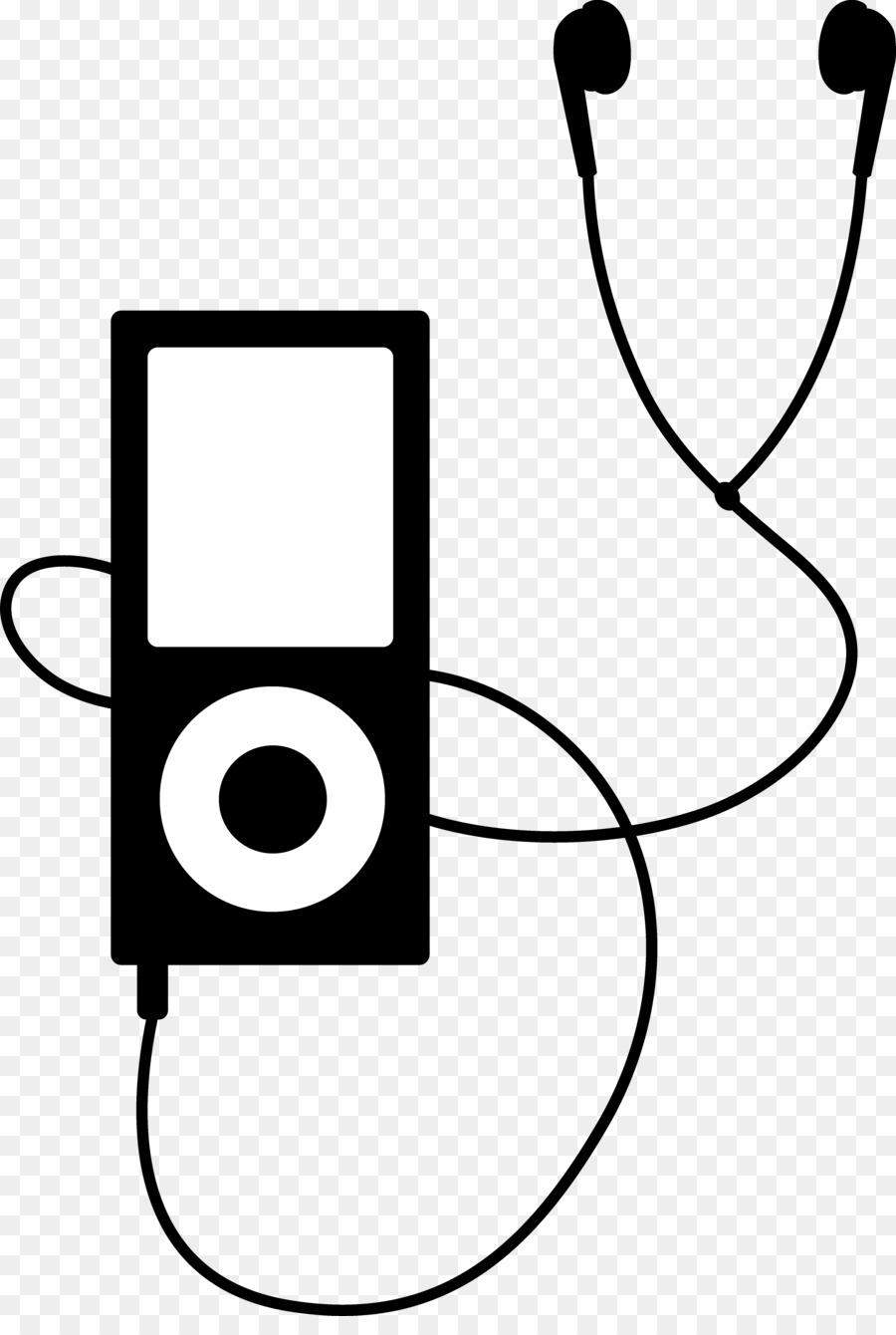 Headphones Cartoon clipart.