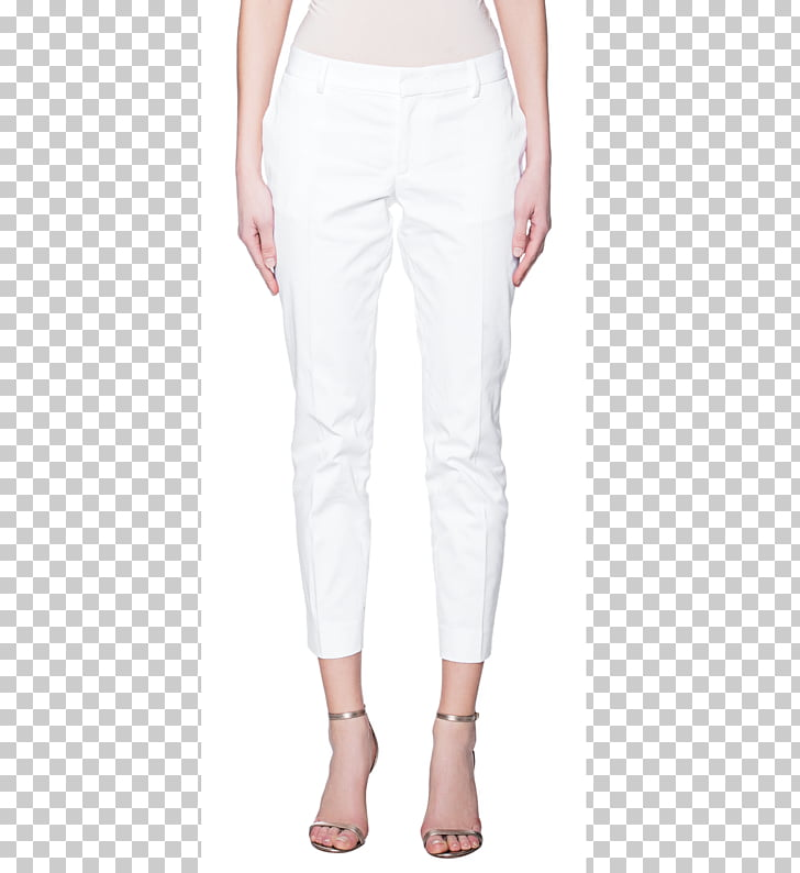 Jeans Chino cloth Denim Leggings Dsquared², white business.